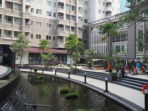 Playground and Garden Sudirman Park 300x225 - Living in Sudirman Park Apartment
