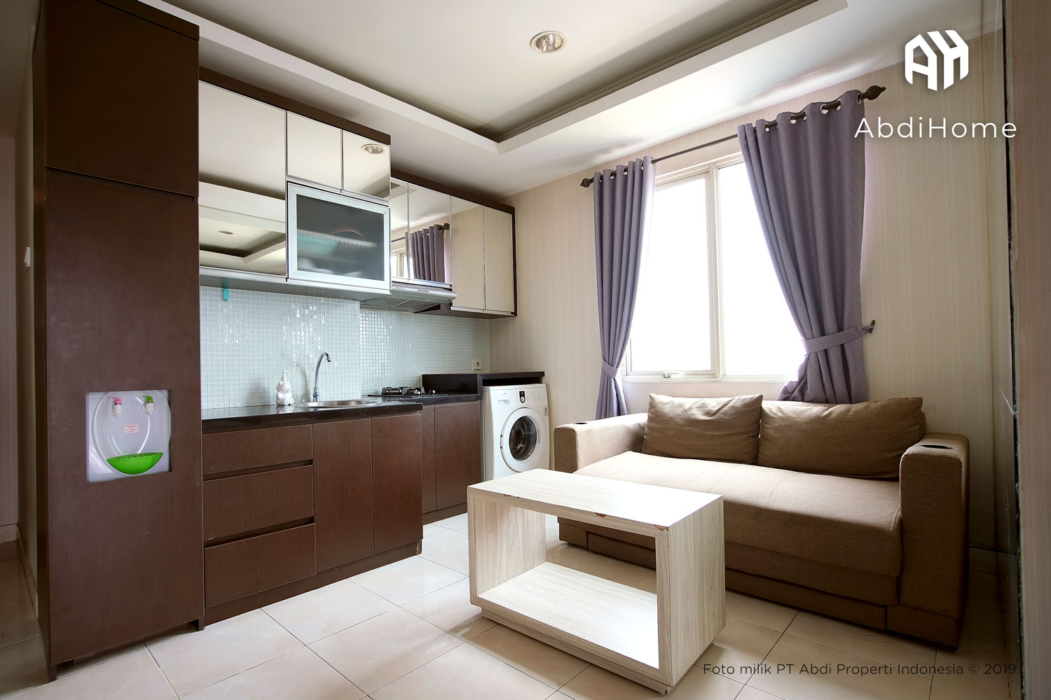 The Boulevard 1BR Fully Furnished Lantai 16 2 - Apartemen The Boulevard