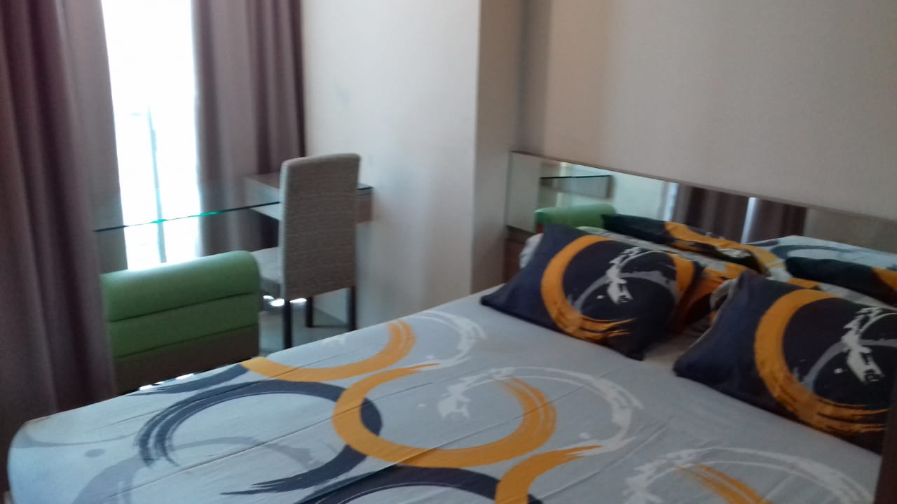 GP Plaza Studio Lantai 19 Bedroom - Apartemen GP Plaza