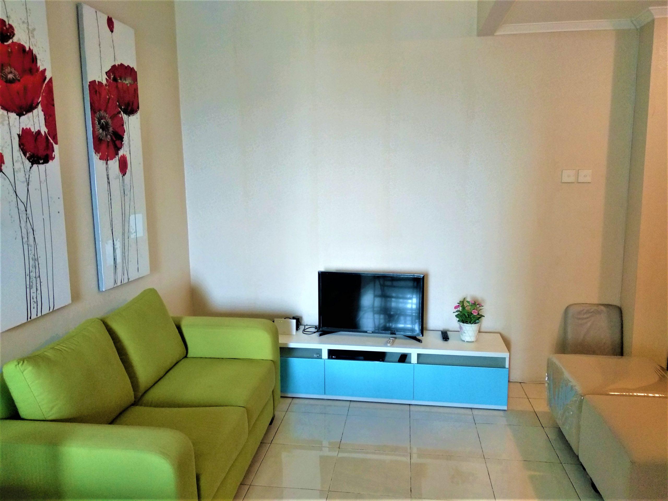 Sudpark B Lantai 17 Livingroom 1 scaled - Apartemen Sudirman Park
