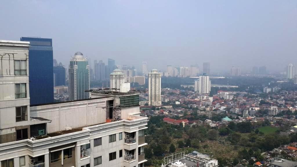 Sudpark Lantai 46 view - Apartemen Sudirman Park
